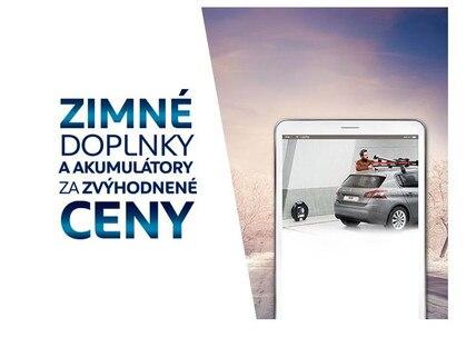 zimne prislusenstvo Peugeot 2018