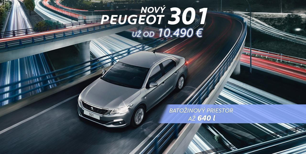 Banner Peugeot 301 velky