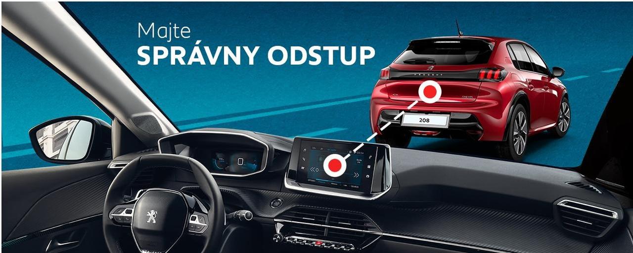 Adaptívny tempomat Kvalita Peugeot