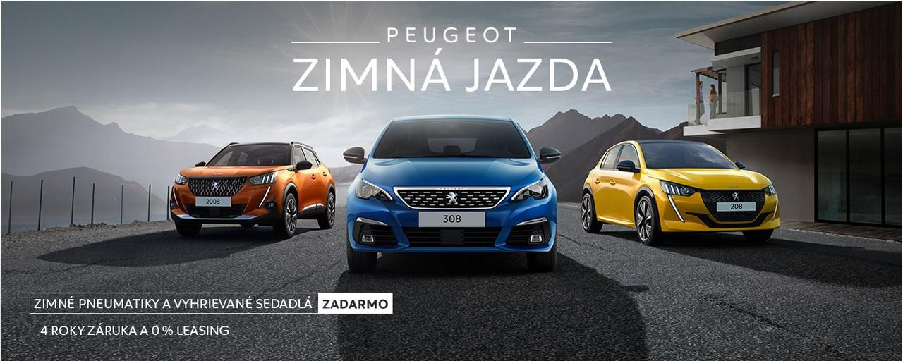 Zimna jazda Peugeot main banner