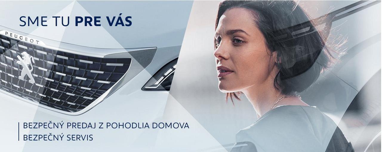 Sme tu pre vas Peugeot online predaj