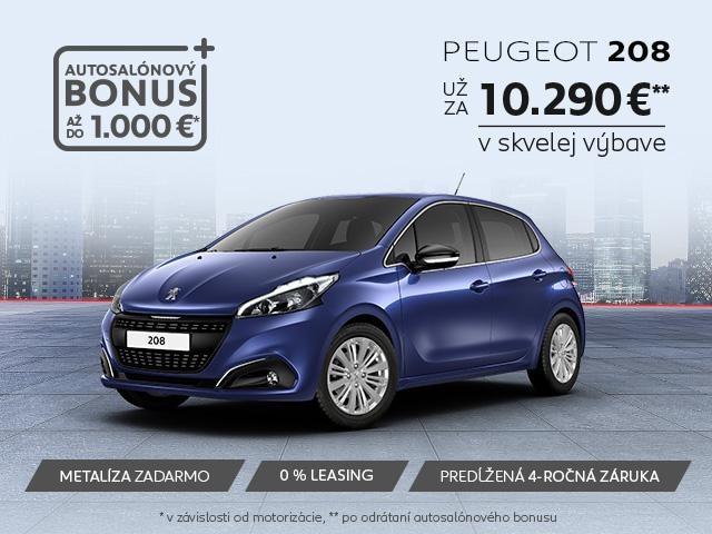 Peugeot 208 autosalon