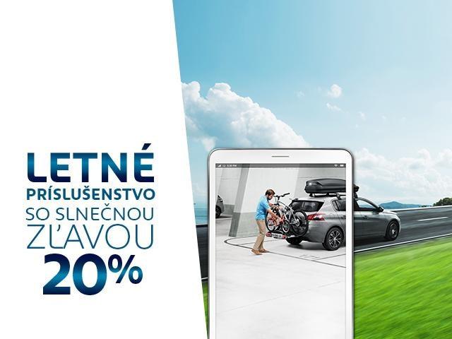 Peugeot Letne prislusenstvo