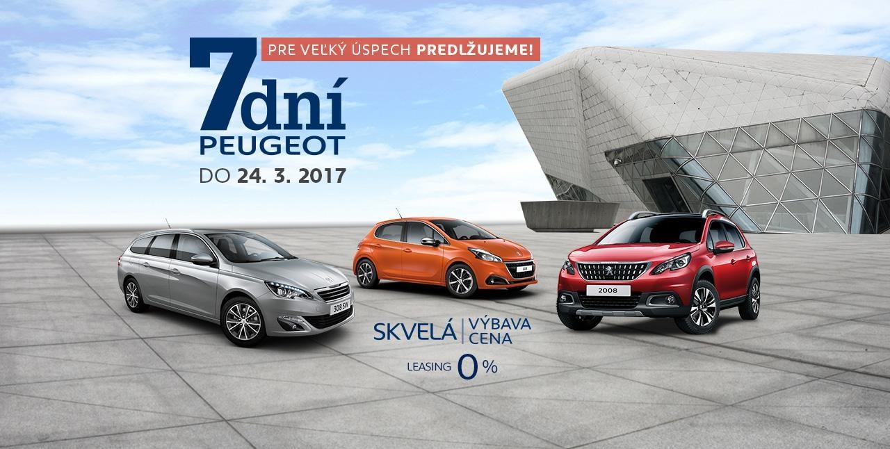 Peugeot 7 dni predlzenie
