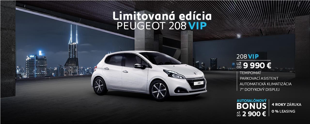 VIP Peugeot 208 novy bonus