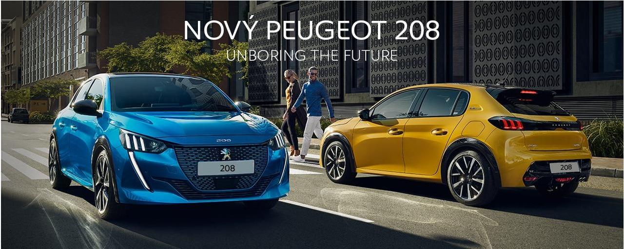 Novy Peugeot 208