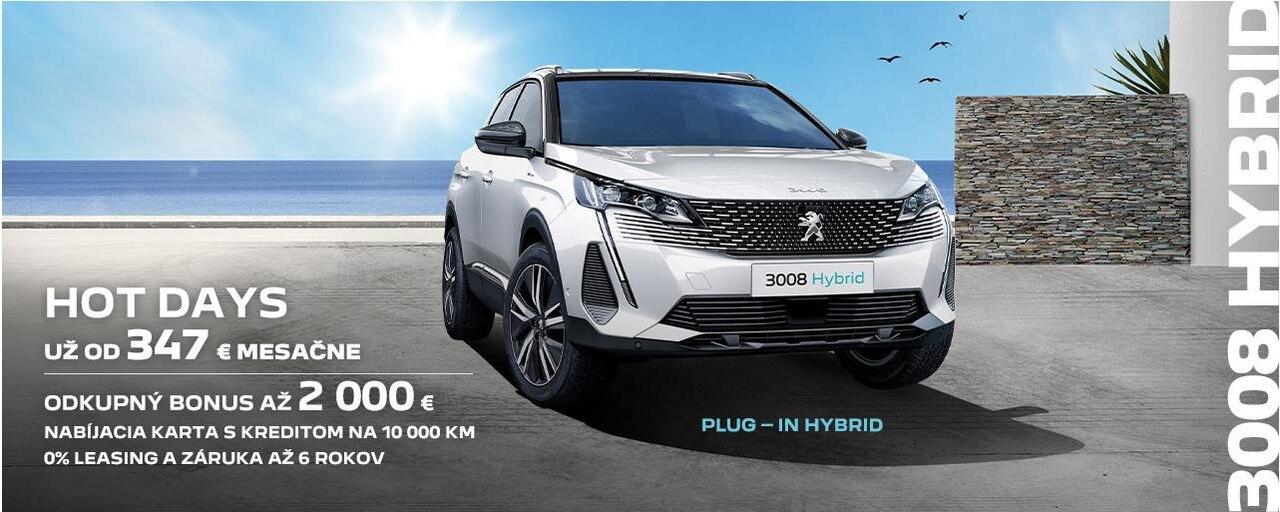 Banner_Peugeot Letné promo 2021_3008 Hybrid