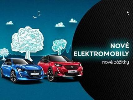 Nové elektromobily