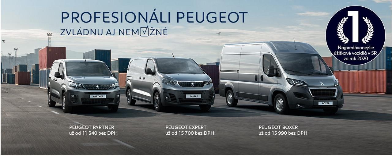 Peugeot profesionali najpredavanejsie 2020 cena