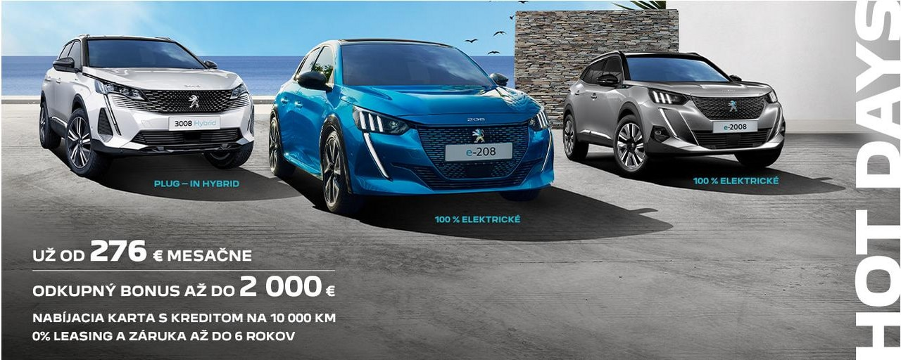 Banner_Peugeot Letné promo 2021_elektrika new