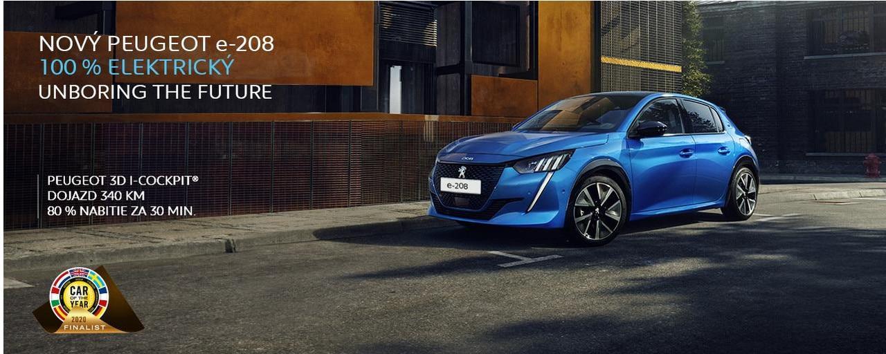 Peugeot e208 elektricky