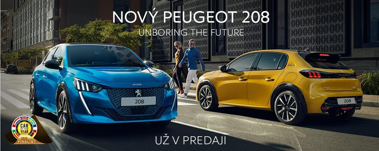 COTY Peugeot 208 banner